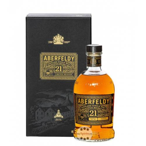 John Dewar & Sons Aberfeldy 21 Jahre Highland Single Malt Scotch Whisky (40 % Vol., 0,7 Liter)