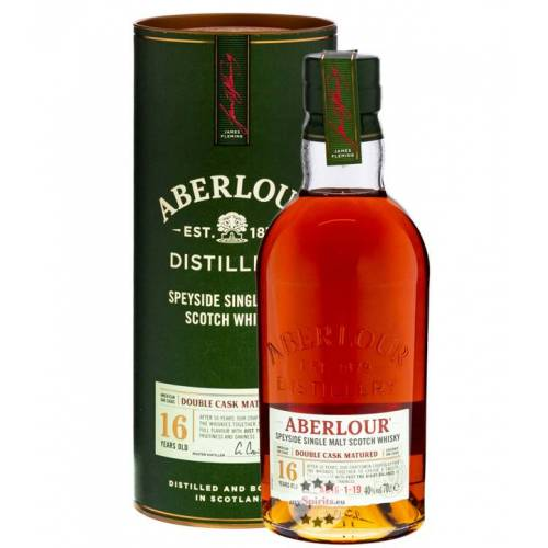 Aberlour 16 Jahre Double Cask Matured Whisky (40 % Vol., 0,7 Liter)