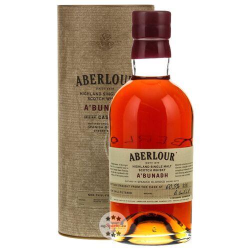 Aberlour A'Bunadh Batch Whisky - neue Abfüllung (59,5 % Vol., 0,7 Liter)