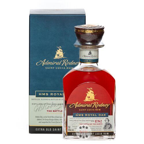 Admiral Rodney Saint Lucia Rum Admiral Rodney HMS Royal Oak Rum (40 % Vol., 0,7 Liter)