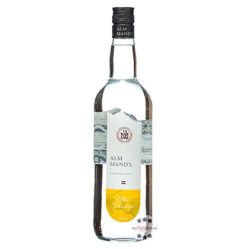 Alm Mand'l Alm Mandl Obst Schnaps (35 % Vol., 1,0 Liter)
