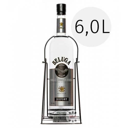 Beluga Vodka Beluga Noble Russian Vodka 6,0l (40 % Vol., 6,0 Liter)