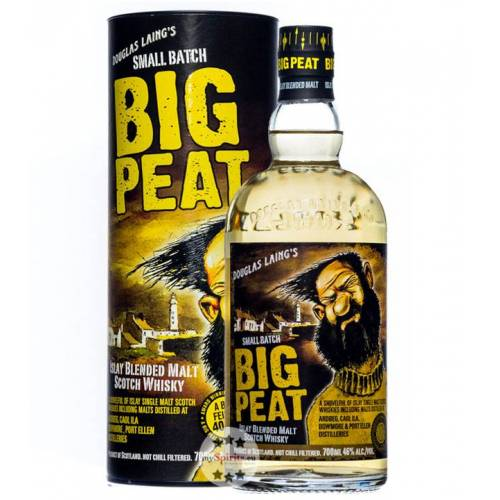 Douglas Laing Whisky Big Peat Islay Blended Malt Scotch Whisky (46 % vol., 0,7 Liter)