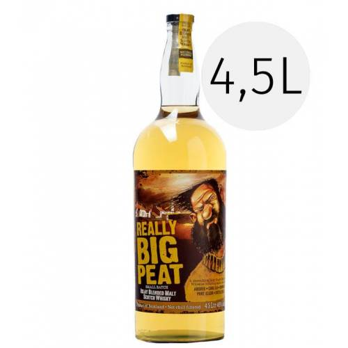 Douglas Laing Whisky Really Big Peat Whisky 4,5 L (46 % vol., 4,5 Liter)