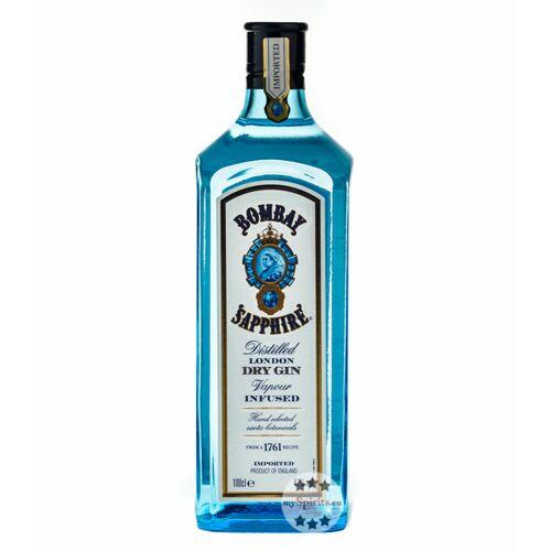 Sapphire Bombay Sapphire Gin 47 % vol  (47 % Vol., 1,0 Liter)
