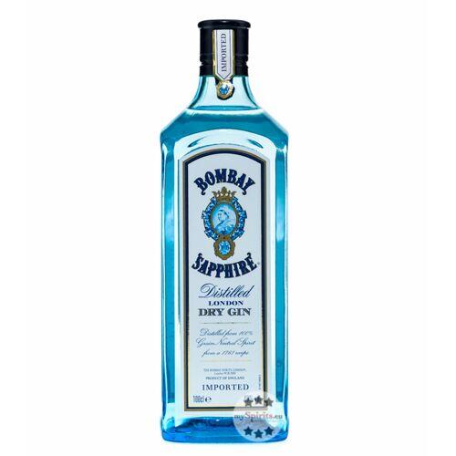 Sapphire Bombay Sapphire Gin 40 % (40 % Vol., 1,0 Liter)