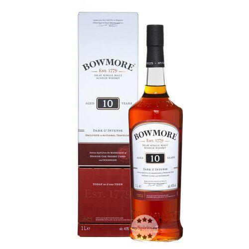 Bowmore 10 Jahre Dark & Intense Whisky (40 % Vol., 1,0 Liter)
