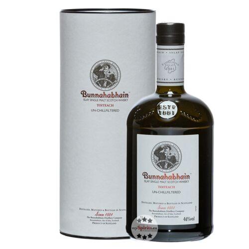 Bunnahabhain Toiteach Whisky (46 % Vol., 0,7 Liter)