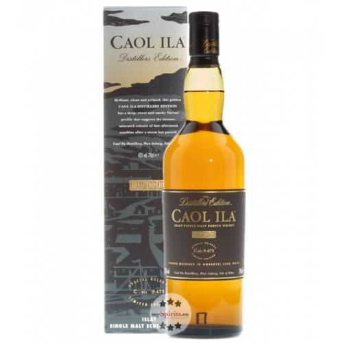 Caol Ila Distillery Caol Ila Distillers Edition Islay Single Malt Whisky (43 % vol., 0,7 Liter)