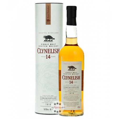 Clynelish Distillery Clynelish 14 Jahre Single Malt Scotch Whisky (46 % vol., 0,7 Liter)