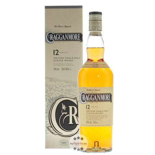 Cragganmore Distillery Cragganmore 12 Jahre Single Malt Whisky 0,7 l (40 % vol., 0,7 Liter)