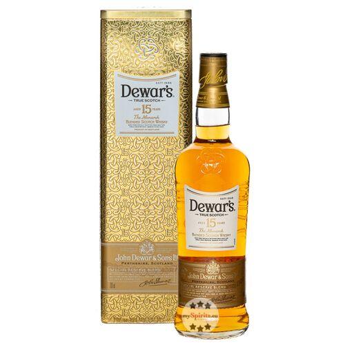 John Dewar & Sons Dewar's 15 Jahre The Monarch Blended Scotch Whisky (40 % Vol., 0,7 Liter)