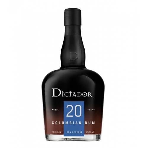 Dictador Rum Dictador  Rum 20 YO (40 % vol., 0,7 Liter)