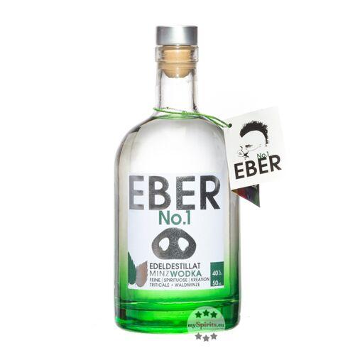 Schönbuch Spirituosen Eber No. 1 MinzWodka (40 % Vol., 0,5 Liter)