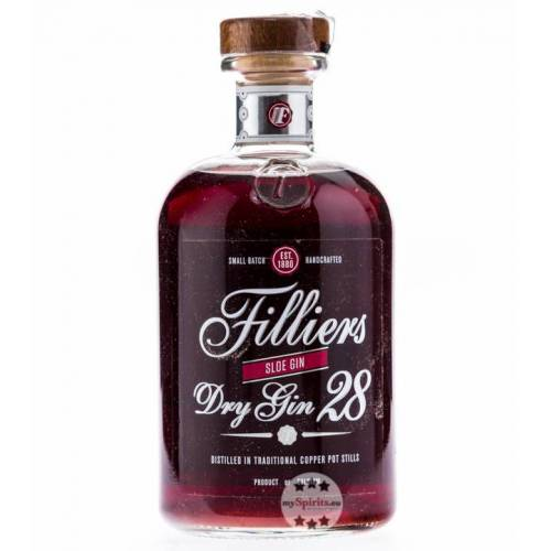 Filliers Distillery Filliers Dry Gin 28 Sloe Gin (26 % vol., 0,5 Liter)