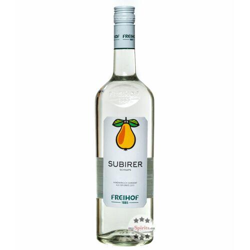 Destillerie Freihof Freihof Subirer Schnaps  (38 % vol., 1,0 Liter)