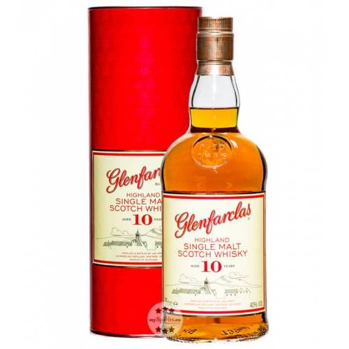 Glenfarclas 10 Jahre Whisky (40 % vol., 0,7 Liter)