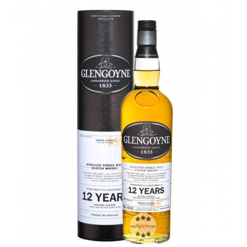 Glengoyne Distillery Glengoyne 12 Jahre Single Malt Whisky (43 % Vol., 0,7 Liter)