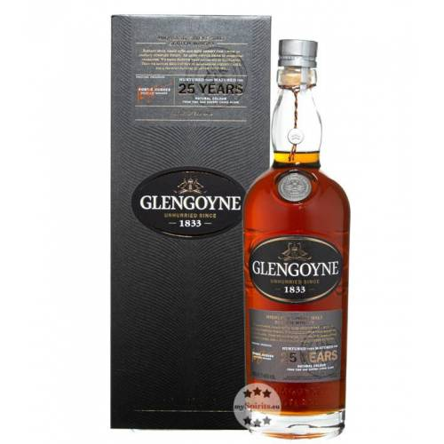 Glengoyne Distillery Glengoyne 25 Jahre Single Malt Whisky (48 % Vol., 0,7 Liter)