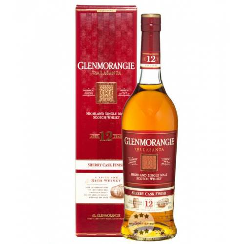 Glenmorangie Distillery Glenmorangie The Lasanta Whisky (43 % Vol., 0,7 Liter)