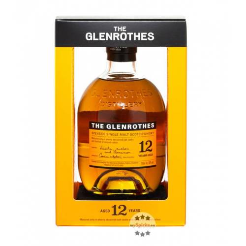 The Glenrothes Glenrothes 12 Jahre Whisky Soleo Collection (40 % Vol., 0,7 Liter)