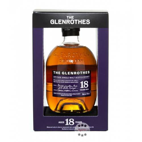 The Glenrothes Glenrothes 18 Jahre Whisky Soleo Collection (43 % Vol., 0,7 Liter)