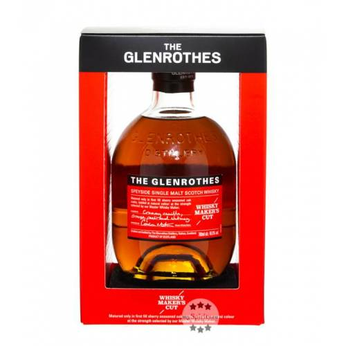 The Glenrothes Glenrothes Makers Cut Whisky Soleo Collection (48,8 % Vol., 0,7 Liter)