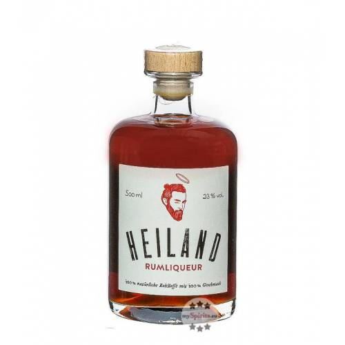 beer liqueur foundation UG Heiland Likör mit Rum & Doppelbock (23 % vol., 0,5 Liter)