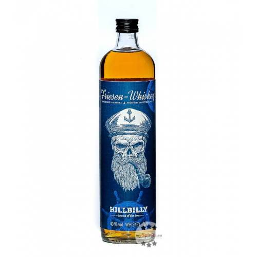Hillbilly Friesen Whiskey (40 % Vol., 0,7 Liter)