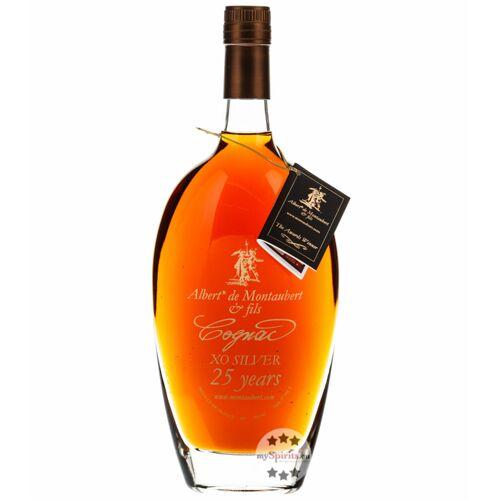 Albert de Montaubert & Fils Albert de Montaubert Cognac XO Silver 25 Years (40% Vol., 0,7 Liter)
