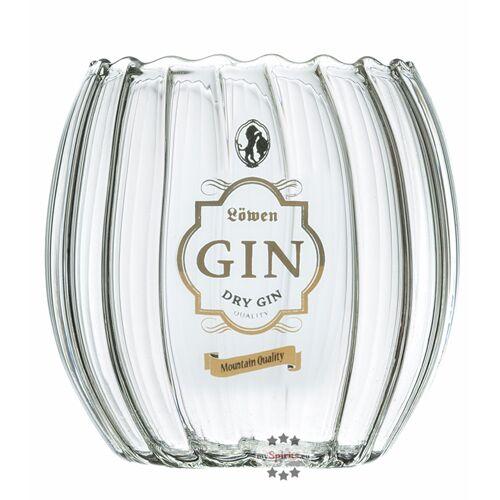 Bergbrennerei Löwen Löwen Gin Glas