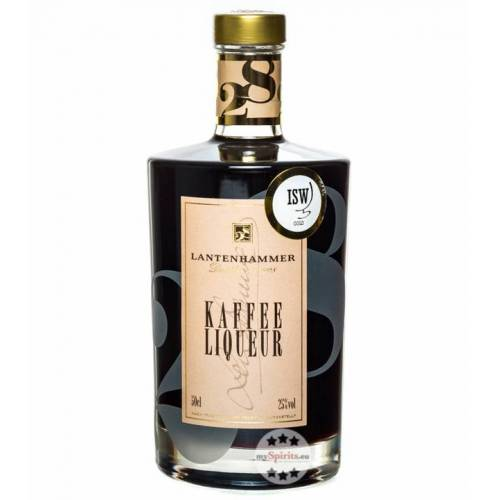 Lantenhammer Destillerie Lantenhammer Kaffee Liqueur (25 % vol., 0,5 Liter)