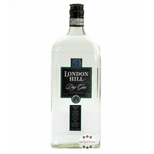Ian Macleod Distillers London Hill Dry Gin (43 % vol., 1,0 Liter)