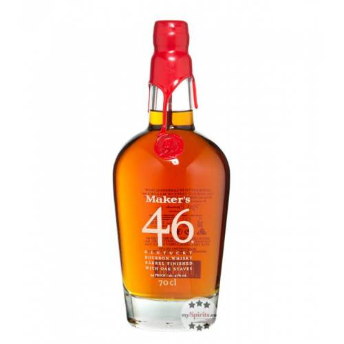 Maker's Mark 46 Bourbon Whisky (47 % Vol., 0,7 Liter)