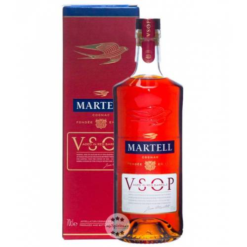 Martell Cognac Martell VSOP Cognac Aged in Red Barrels (40 % vol., 0,7 Liter)