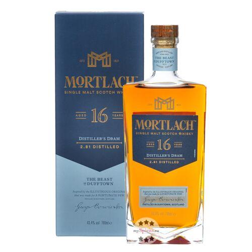 Mortlach 16 Jahre Single Malt Scotch Whisky (43,4 % vol., 0,7 Liter)