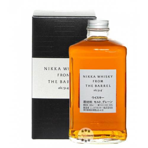 The Nikka Whisky Distilling Co. Nikka From The Barrel Blended Whisky (51,4 % Vol., 0,5 Liter)