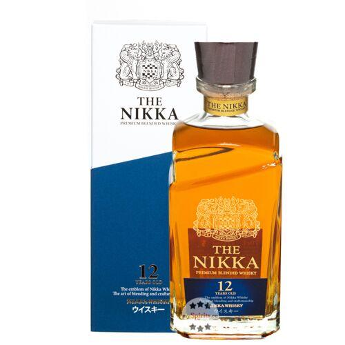 The Nikka Whisky Distilling Co. Nikka 12 Jahre Premium Blended Whisky (43 % Vol., 0,7 Liter)