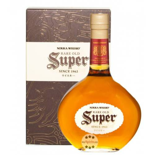 The Nikka Whisky Distilling Co. Nikka Whisky Super Rare Old (43 % Vol., 0,7 Liter)
