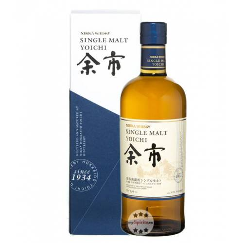 The Nikka Whisky Distilling Co. Nikka Yoichi Single Malt Whisky (45 % Vol., 0,7 Liter)