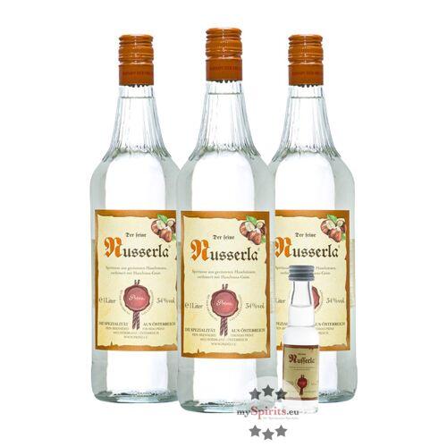 Fein 3 x Prinz Nusserla + gratis Miniatur (34 % Vol., 3,0 Liter)
