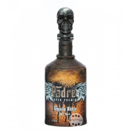 Padre Azul Añejo Super Premium Tequila (38 % Vol., 0,7 Liter)