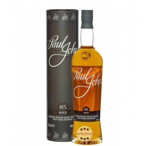 Paul John Whisky Paul John Bold Single Malt Whisky (46 % Vol., 0,7 Liter)