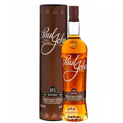 Paul John Whisky Paul John Edited Single Malt Whisky (46 % Vol., 0,7 Liter)