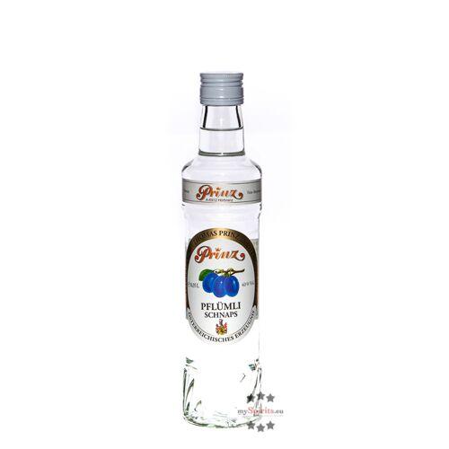 Fein Prinz Pflümli-Schnaps  (40 % Vol., 0,35 Liter)