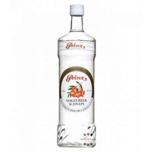 Fein Prinz Vogelbeer-Schnaps (40% Vol., 1,0 Liter)