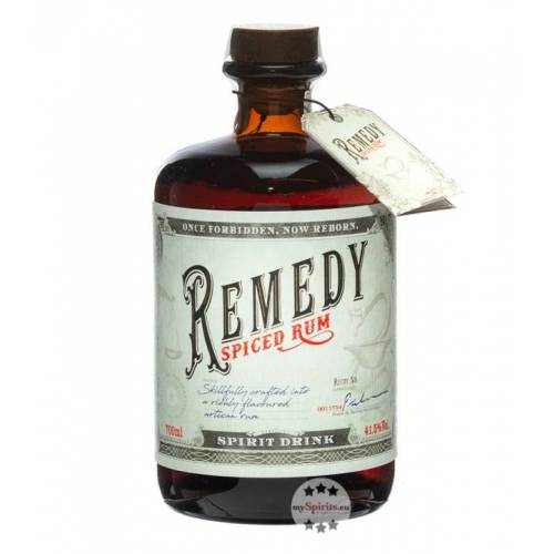 Remedy Spiced Rum Remedy Spiced (Rum-Basis) (41,5 % Vol., 0,7 Liter)