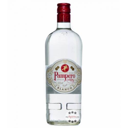 Pampero Blanco Rum (37,5 % vol., 1,0 Liter)