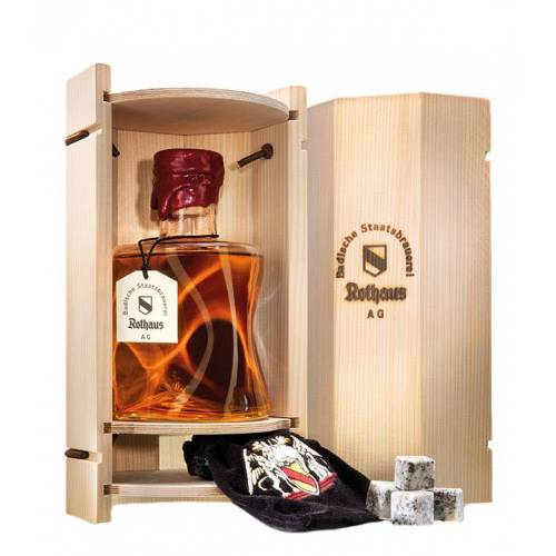 Badische Staatsbrauerei Rothaus AG Rarität: Rothaus Black Forest Whisky Jubiläumsedition 2016 (52,3 % Vol., 0,7 Liter)