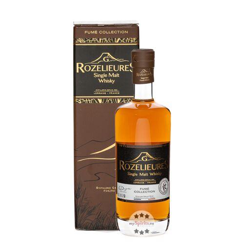 Distillerie Grallet Dupic Rozelieures Single Malt Whisky Fumé Collection (46 % Vol., 0,7 Liter)